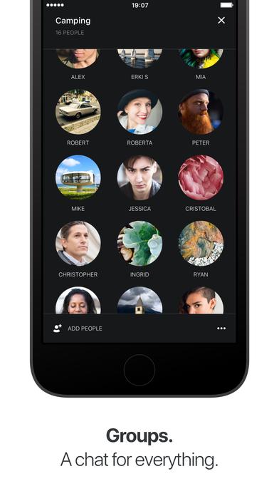 Wire — приватный мессенджер Screenshot