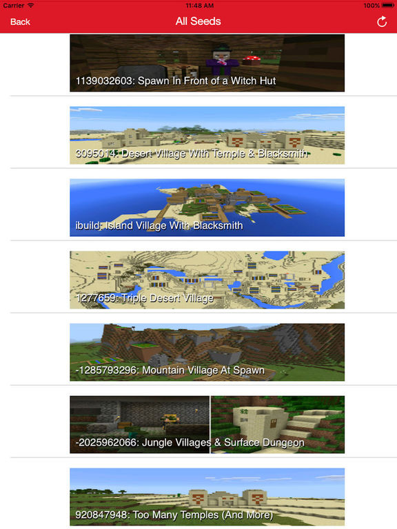 Multiplayer Servers for Minecraft PE + Mods, Seeds Screenshots