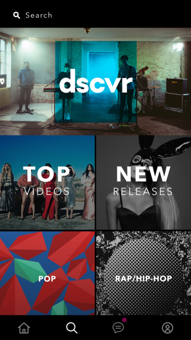 Screenshots of Vevo - Watch HD Music Videos for iPhone