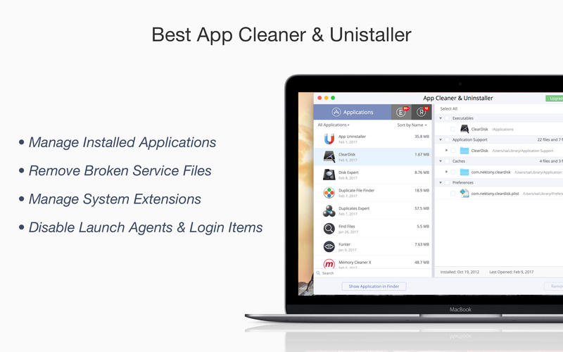 App Cleaner Screenshot - 1