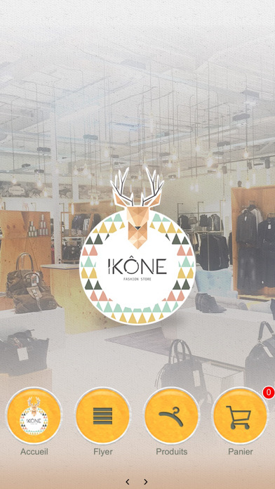 Ikône Store screenshot 1