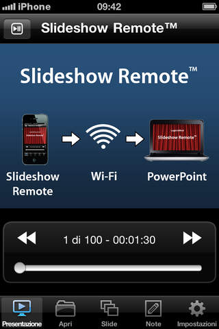 Slideshow Remote®  for PowerPoint screenshot 1