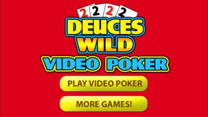 Screenshot 2 Deuces Wild Video Poker