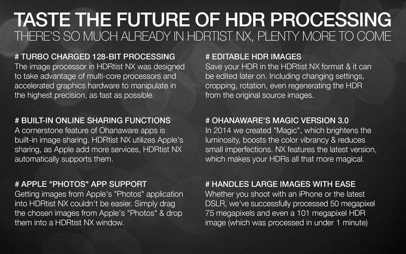 HDRtist NX for Mac