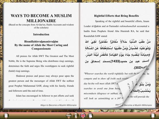 Ways to Become a Muslim Millionaire for iPad iPad Screenshot 1