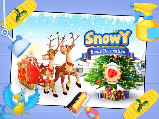 Snowy Home Decoration Pro screenshot 5