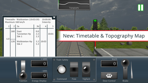 DB Train Simulator Screenshot