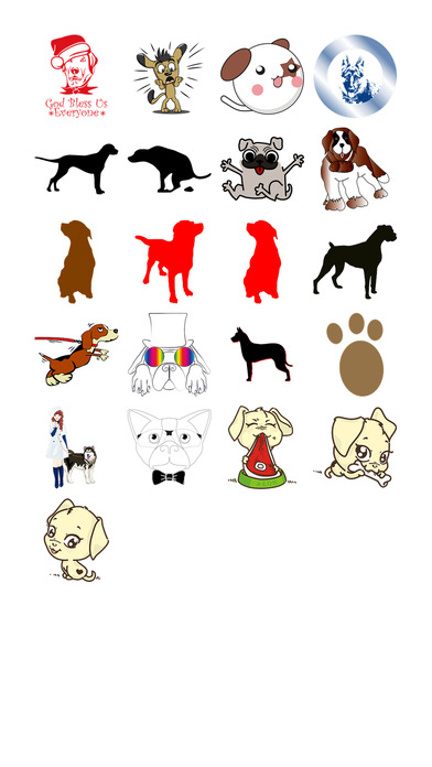 Dog Two Sticker Pack screenshot 1