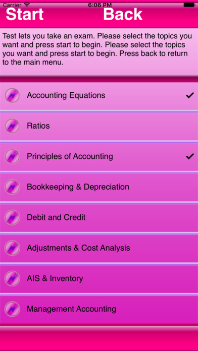 Test Review Accounting 101 Master iPhone Screenshot 3