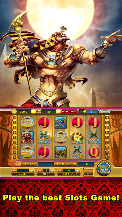Screenshot 1 Egypt Dream — Slots with Huge Bonuses and Payouts!