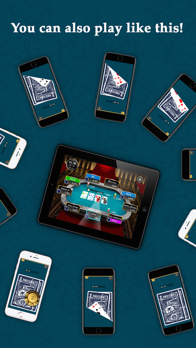 Iphone poker app to play with friends