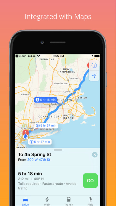 iTour.phish iPhone Screenshot 4