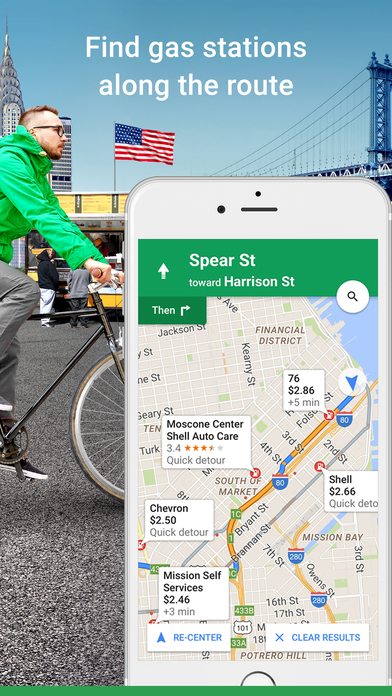 Image of Google Maps - Navigation & Transit for iPhone