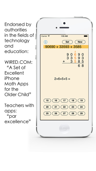 Column Addition iPhone Screenshot 3