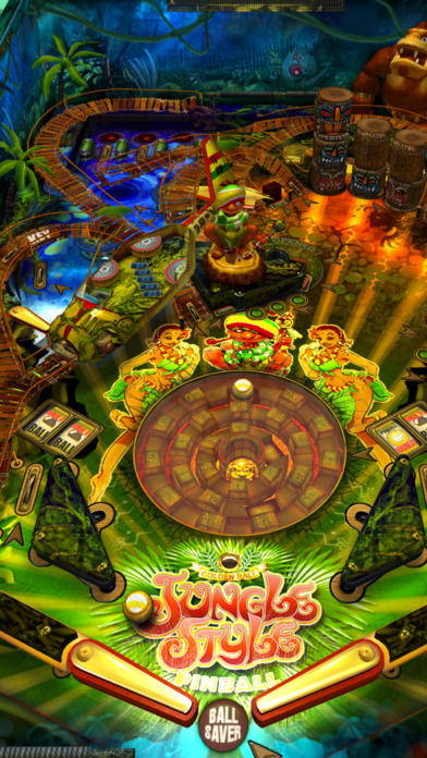 Jungle Style Pinball iPhone Screenshot 1