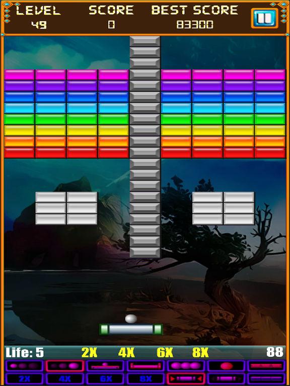 Игра Brick Breaker: Super Breakout Retro