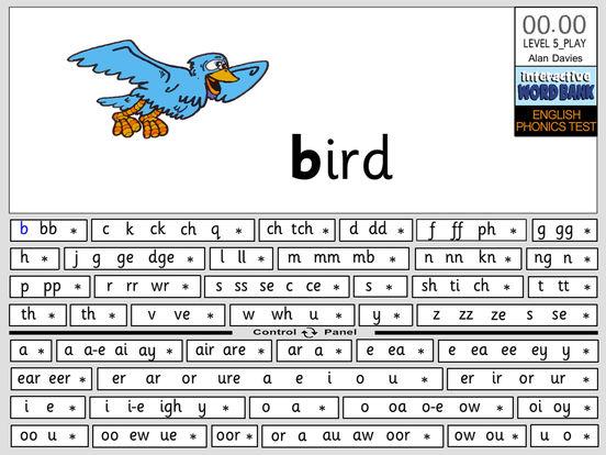 ENGLISH PHONICS TEST just IPA iPad Screenshot 3
