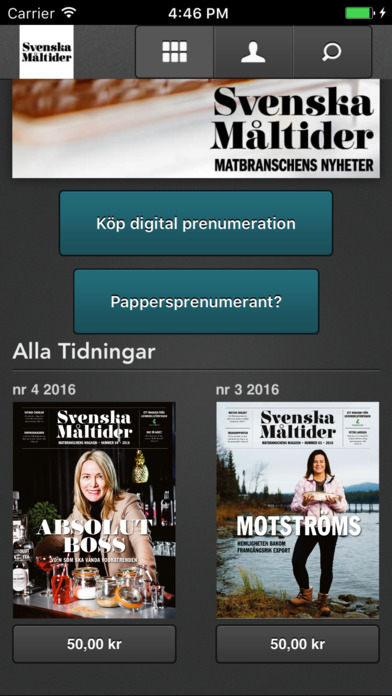 Svenska Måltider screenshot
