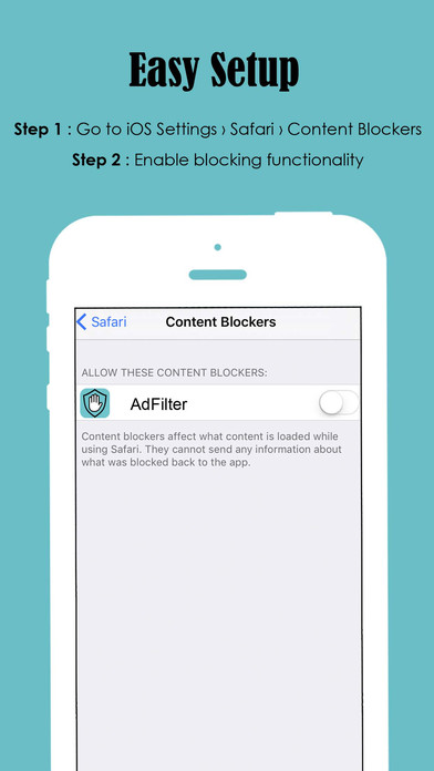 Ad Filter - Block and Filter all Ads away! Screenshots