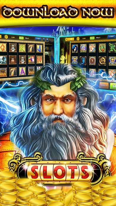 Screenshots of 777 Zeus Casino Slots– Let It Rain Money Game Free for iPhone