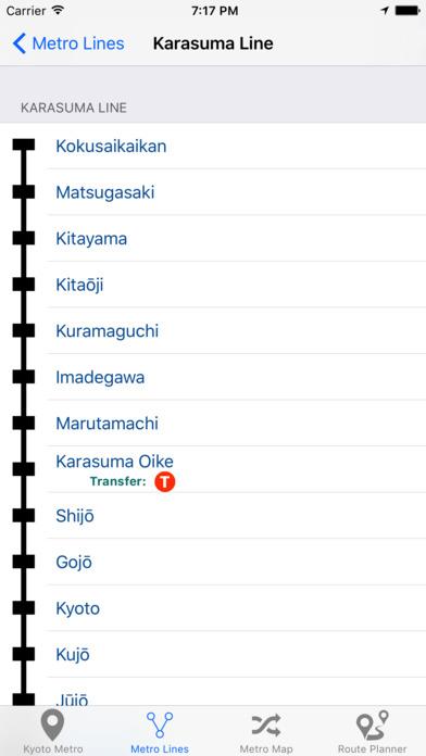 Kyoto Metro Screenshot 4