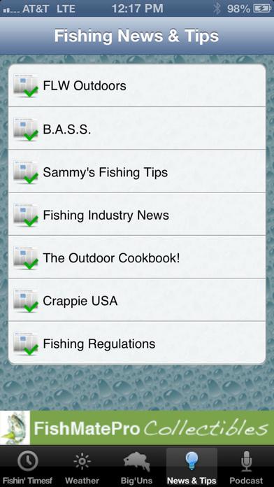 FishMatePro iPhone Screenshot 4