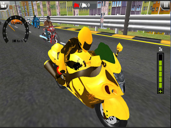 Top Bike Moto Rider City 2k17 screenshot 6