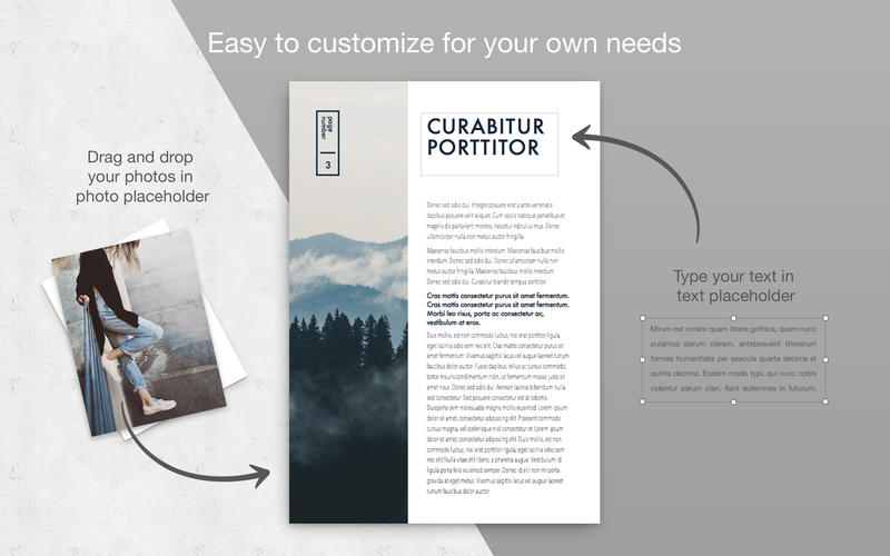 Brochure Lab for Pages - Templates Bundle 앱스토어 스크린샷