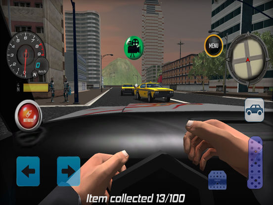 #4. Extreme City Driving 2017 (iOS)