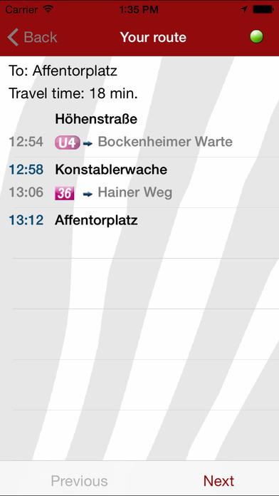 Big Red Zebra (Frankfurt) iPhone Screenshot 4