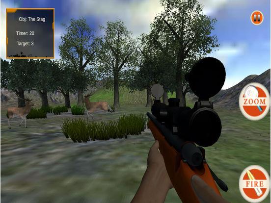 Wild Sniper Forest Hunting Pro screenshot 5