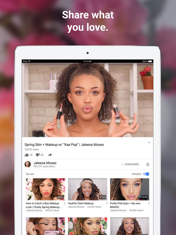 Image of YouTube - Watch Videos, Music, and Live Clips for iPad