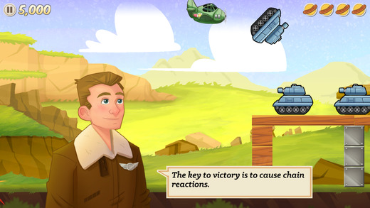 Sausage Bomber Screenshot