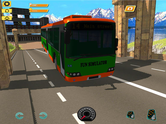 Bus Simulator : Extreme Offroad Drive screenshot 6