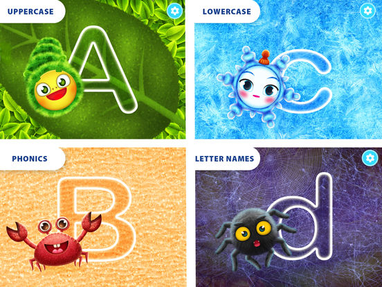 Yum-Yum Letters: handwriting for kids, abc tracing Screenshots