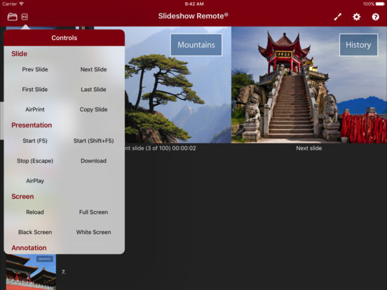 Slideshow Remote™ for PowerPoint iPad Screenshot 3
