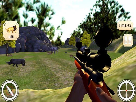 Jungle animals Hunting Pro screenshot 7