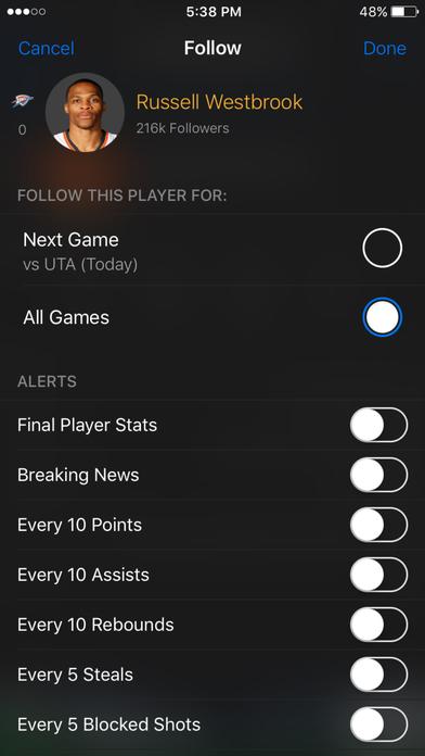 ScoreMobile iPhone Edition iPhone Screenshot 4