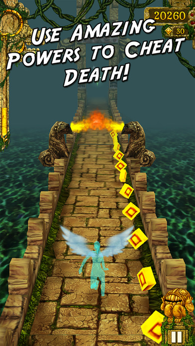 Screenshots of Temple Run for iPhone