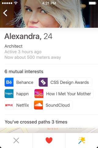 happn — Dating app screenshot 4