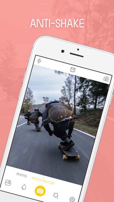 SinCam - photo editor & picture editor effects Apps free for iPhone/iPad screenshot