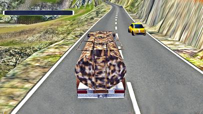 Army Transport Truck Simulation Pro screenshot 1