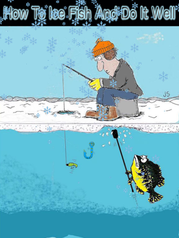 App shopper how to ice fish and do it well sports for Ice fishing apps