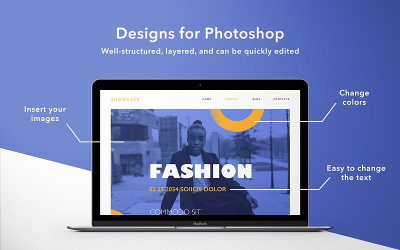Universal Kit Mill - Templates for Photoshop 앱스토어 스크린샷