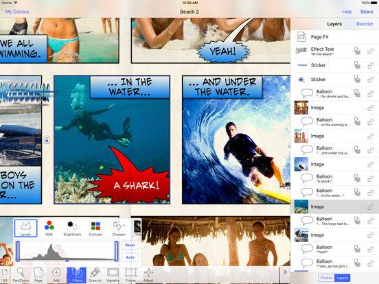 Strip Designer iPad Screenshot 4