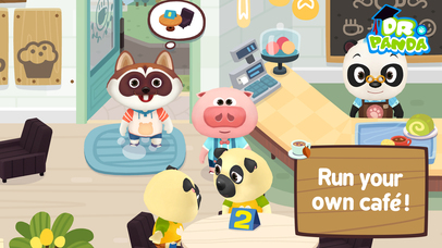 Dr. Panda Cafe screenshot 1