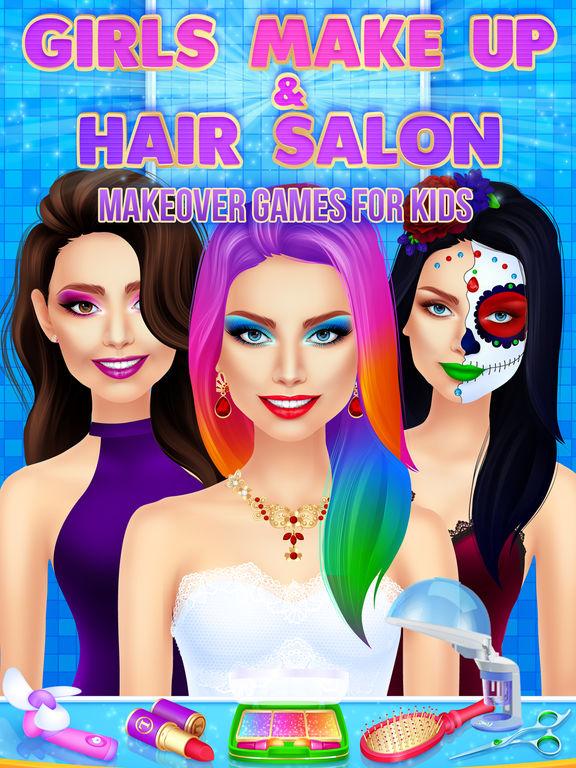 App Shopper Girls Makeup & Hair Salon Makeover Games for ...