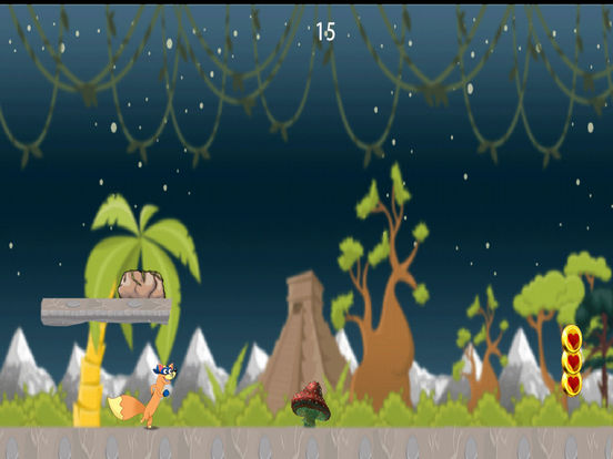Little Fox Wild Jungle Escape screenshot 4