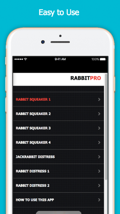 Screenshot for Rabbit Calls for Game Hunting in United States App Store