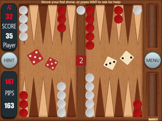 Backgammon by George на iPad
